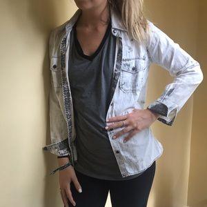 CURRENT/ELLIOTT jean shirt
